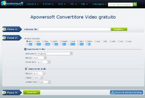 convertitore formati video lavoro online