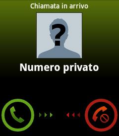 Telefonare per uscire